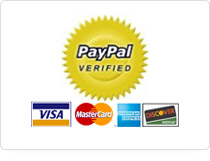 We accept PayPal payments and all major credit cards