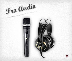 Click to Shop Pro Audio Equipment
