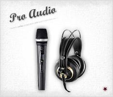 Click to Shop Pro Audio Equipment