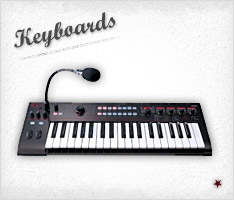 Click to Shop Keyboards