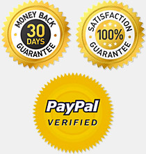 30 Day Guarantee, Satisfaction, PayPal Verified