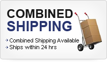Combined Shipping Availabe
