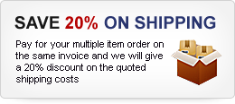Save 20 Percent on Shipping