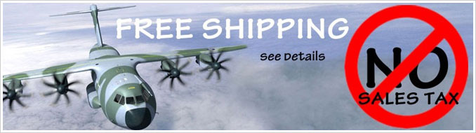 Free Shipping - No Sales Tax - See Details