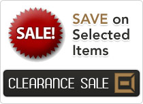 Save on Selected Items, Clearance Sale!