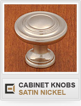 Cabinet Hardware - Satin Nickel