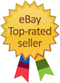 Proud to be an eBay Top Rated Seller