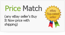 Price Match any eBay Seller's Buy It Now price with shipping