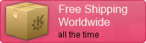 Free Shipping Worldwide - all the time