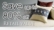 Save up to 80 percent off retail value
