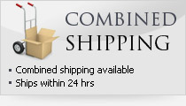 Combined shipping available, ships within 24 hours
