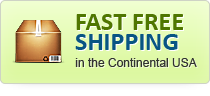 Fast Free Shipping in the Continental USA
