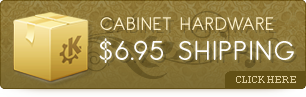 Cabinet Hardware 6.95 Shipping - Click Here