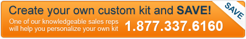 Create your own custom kit and SAVE!