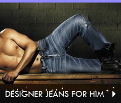 Click to Shop Designer Jeans for Him