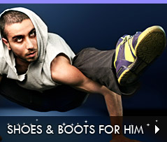 Click to Shop Shoes and Boots for Him