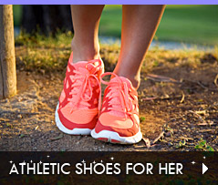 Click to Shop Athletic Shoes for Her