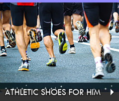 Click to Shop Athletic Shoes for Him