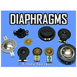 Click to Shop Speaker Diaphragms