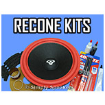 Click to Shop Recone Kits