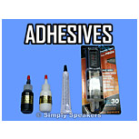 Click to Shop Speaker Adhesives
