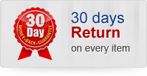 30 days return on every item