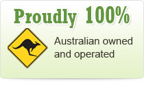 Proudly 100 Percent Australian owned and operated