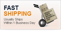 Fast Shipping usually ships within 1 business day