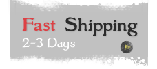 Fast Shipping 2 to 3 Days