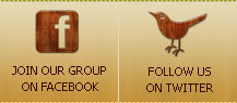 Follow us on Facebook &amp; Twitter