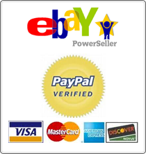 ebay PowerSeller - PayPal Verified
