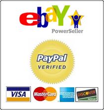 ebay PowerSeller - PayPal Verified