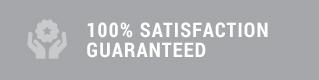 100% satisfication