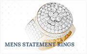 Mens-Statement-Ringe