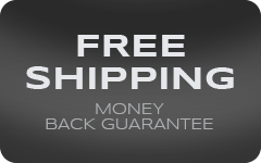 Free Shipping, 30 Day Money Back Guarantee